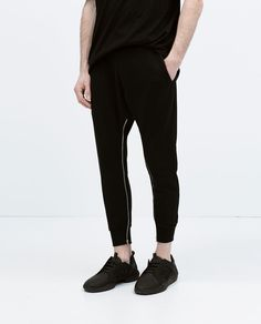 ZARA - MAN - ZIPPED SWEATPANTS  http://www.zara.com/uk/en/man/trousers/view-all/zipped-sweatpants-c719514p2497079.html