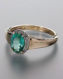 Harry Ivens Ring Smaragd&Saphire