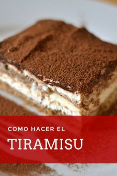 Aprende paso a paso como hacer el tiramisu italiano, un postre con una particular historia. Esta r Mascarpone Recipes, Mascarpone Cheese, Bakery Recipes, Snack Recipes, Dessert Recipes, How To Make Tiramisu, Crockpot Recipes For Kids, Tiramisu Cake, Cupcakes