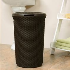 Found it at Wayfair - Curver Round Hamper