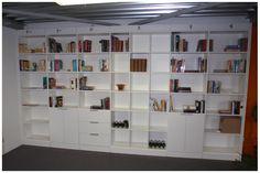 Afbeeldingsresultaat voor boekenkast op maat met bureau