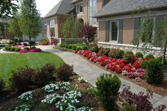 Low Maintenance Landscaping Front Yard Curb Appeal Entrance