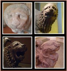 #Leoni al Museo Archeologico Nazionale di Firenze #MAF Oriental, Phoenician, Leoni, Lion Sculpture, Firenze, Statue, Terracotta, Memories, Museum