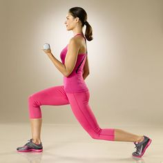 11 Best Exercises to Get Strong, Toned Arms  Bicep Curl with Alternating Lunge Best for: A firmer lower body and long and lean arms