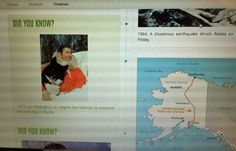 Learn about the history of Alaska and create a timeline online!
