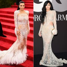 Scandalously See-Through Gowns