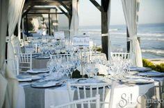 """2. Para una boda de día, los linos e hilos son ideales. Sira Antequera, Wedding Planner de Sí! Quiero en """"Una mesa con estilo"""" para Marie Claire."""