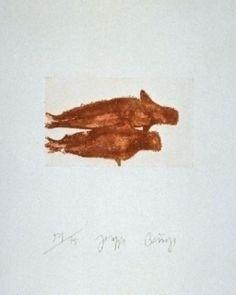 Eau-forte et aquatinte - Joseph Beuys - Meerengel Zwei Robben