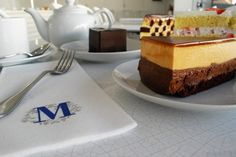 Once upon some Instagram photo scrolling, an old friend of mine posted a photo of a beautiful crepe cake she bought in New York City from a place called Lady M. I made sure to visit this wondrous c…