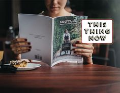 The web-based visually and verbally outstanding Life & Thyme has launched its first print edition.