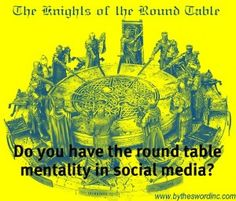 Round Table effect in Social Media