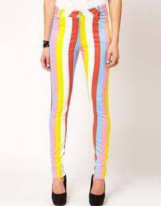 sweet as candy: Motel Jordan Jeans Candy Stripe
