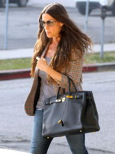 56241e16161 Alanis Morissette - mom with style ~ Noir 40cm Birkin   Wow did not think  alanis
