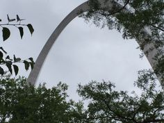 St. Louis, MO, another view of The Arch - it is difficult to imagine how BIG it is until you see it.