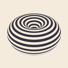 These looping GIFs created by Swedish artist Erik Soderberg are pretty dangerous. I started watching them because they're really cool, and I ended up completely paralyzed, trapped inside those geometric patterns.