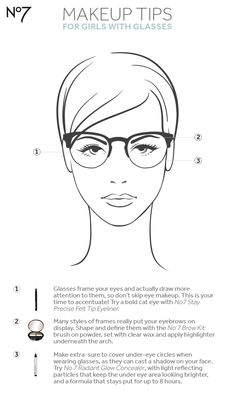 Think wearing glasses means there's no point in putting on eye makeup? Think again! There's no better accessory for accentuating your eyes. Read these tips to see how to make the most of your makeup while wearing them.