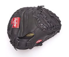 "Rawlings Player Preferred 33-inch Catchers Mitt, Right-Hand Throw (RCM30C) by Rawlings. $59.99. The Rawlings adult Player Preferred 33"" Catcher's Baseball Glove features the One Piece Closed Web, which creates maximum strength and durability. With its 33"" pattern, the glove forms a good pocket, which makes it easier to control the ball and scoop up pitches in the dirt. This glove features a unique orange color border so that the pitchers can see the strike zone more clearly. The ..."