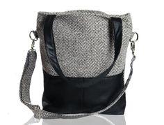 Kangoo grey bering black torebki bags philosophy torba torebka