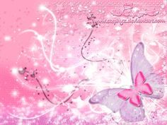 Pink Butterfly Backgrounds | Pink Butterfly Crush