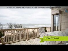 Absolutely Stunning Waterfront Condo! In The Summertime You Can Watch The Sunrise and Sunset Right From The Porch.  🗝🗝CLICK VIDEO🗝🗝 For More Information! Our Agents are Available! 757-255-8289 - If Your Buyin... Call Rhyan!  Visit http://app.1stclassre.com/ or text 1STCLASSRE to 87778 To View More Listings Like This in the Hampton Roads Area!