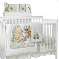 Best baby girl nursery themes crib bedding sets winnie the pooh 18 ideas Winnie The Pooh Themes, Winnie The Pooh Nursery, Vintage Winnie The Pooh, Bear Nursery, Nursery Bedding, Crib Bedding Sets, Baby Room Themes, Baby Girl Nursery Themes, Baby Nursery Neutral