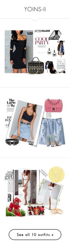 """""""YOINS-II"""" by autumn-soul ❤ liked on Polyvore featuring yoins, yoinscollection, loveyoins, afterdark, Loewe, Chanel, festivalfashion, Dolce&Gabbana, Laurence Dacade and Skinnydip"""