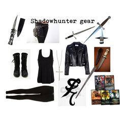 Shadowhunter Gear, this is going to be my Halloween costume! :D I can't wait!!