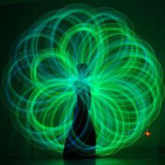 Glow poi! this man's YouTube videos are amazing!!