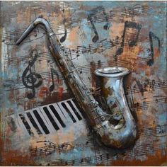 Shop for Urban Port 'Music Notes' Metal Wall Decor. Get free delivery at Overstock.com - Your Online Art Gallery Shop! Get 5% in rewards with Club O!