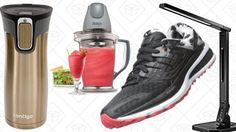 Todays Best Deals: Running Shoes Desk Lamps Travel Mugs and More