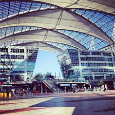 """München Flughafen """"Franz Josef Strauß"""" (MUC) in München, Bayern"""