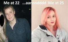 Nearly 26, 2.5 years of HRT, (B&A)
