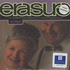 """For Sale -Erasure Am I Right? UK Promo  7"""" vinyl single (7 inch record)- See this and 250,000 other rare and vintage records & CDs at http://eil.com/"""