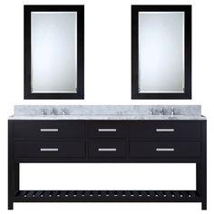 "Found it at Wayfair - Creighton 72"" Double Bathroom Vanity Set with 2 Mirror"