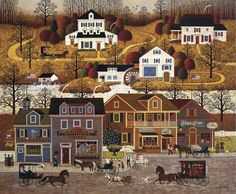 Charles Wysocki - Hawk River Hollow