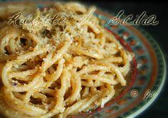 Ricetta pasta con il pesto di pistacchi siciliana   Ricette di Sicilia