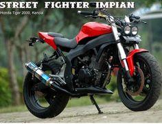 Modifikasi Motor Honda Tiger