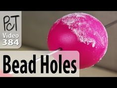 Video #617: If you want your beads to look professional, then it is usually best to drill holes after your polymer has been baked... More Info: http://www.be...