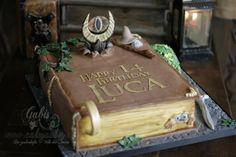 Book Cake form Lord of the Rings / Buchtorte von Herr der Ringe