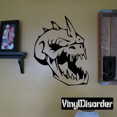 Skull Wall Decal - Vinyl Decal - Car Decal - SM048