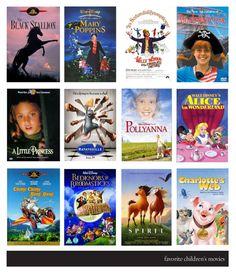 12 Great Children's Movies.