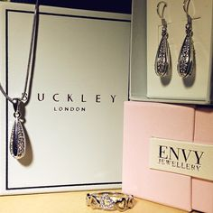@Marychbib with her new presents including a Buckley London Pendant & Earrings Set Photo by marychbib
