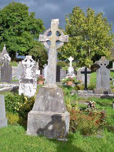 Cemetery in Ennis, Ireland