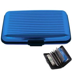Wallet Credit Card Holder with RFID Signal Blocking Technology