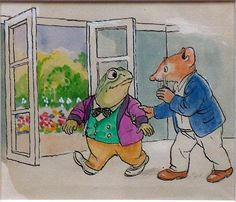 The Wind in the Willows 53 (Original) art by Philip Mendoza Archive