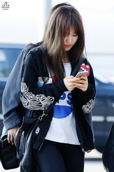 Red Velvet Wendy Airport Fashion 150424 2015 Kpop