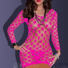 Material: Cotton Decoration: Lace Pattern Type: Solid Model Number: Fishnet Babydoll Fabric Type: Lace Special Use: Exotic Apparel Gender: Women Item Type: Baby Dolls