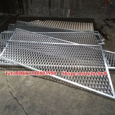 Special shaped aluminum ally expanded metal mesh wall panels