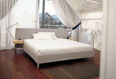 Double bed / contemporary - L13 SAMSARA by Cuno Frommherz - Cassina
