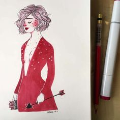 She is getting ready for work today. I'm really the kind of girl that eats pizza and watches Netflix today. En realidad soy el tipo de chica que come pizza y mira Netflix hoy. Inspired by the pretty lady Watch Netflix, Eat Pizza, Work Today, Pretty Woman, Illustrations, Watches, Inspired, Lady, Wristwatches
